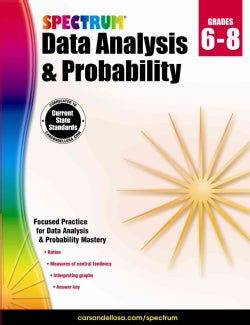 Spectrum Data Analysis and Probability Grades 6-8 (Paperback)