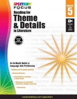 Spectrum Reading for Theme and Details in Literature, Grade 5 (Paperback)