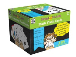 Math Flash Cards Ages 4+ (Cards)