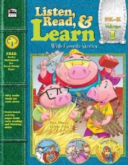 Listen, Read, & Learn, PK-K (Paperback)