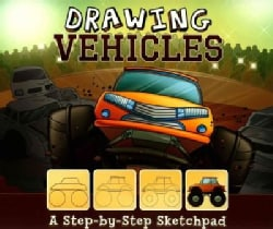 Drawing Vehicles: A Step-by-Step Sketchpad (Paperback)