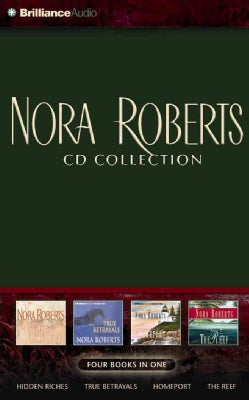 Nora Roberts CD Collection 2: Hidden Riches / True Betrayals / Homeport / The Reef (CD-Audio)