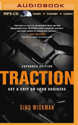 Traction: Get a Grip on Your Business (CD-Audio)