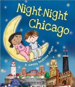 Night-Night Chicago (Board book)