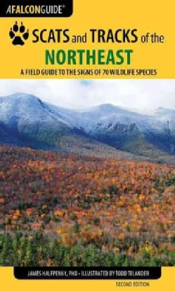 Falcon Guide Scats and Tracks of the Northeast: A Field Guide to the Signs of Seventy Wildlife Species (Paperback)