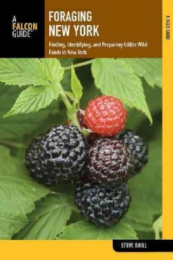 Foraging New York: Finding, Identifying, and Preparing Edible Wild Foods (Paperback)