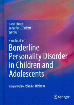 Handbook of Borderline Personality Disorder in Children and Adolescents (Hardcover)