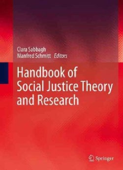 Handbook of Social Justice Theory and Research (Hardcover)
