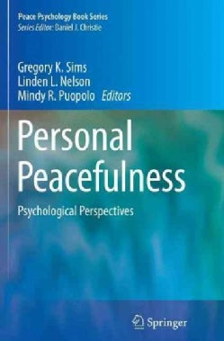 Personal Peacefulness: Psychological Perspectives (Paperback)