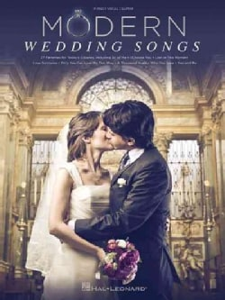 Modern Wedding Songs: Piano, Vocal, Guitar (Paperback)