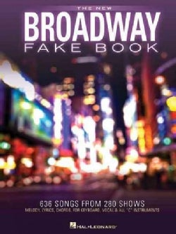 The New Broadway Fake Book (Paperback)