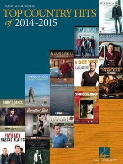 Top Country Hits of 2014-2015: Piano / Vocal / Guitar (Paperback)