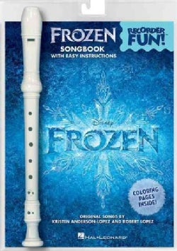 Frozen - Recorder Fun!: Songbook with Easy Instructions (Paperback)