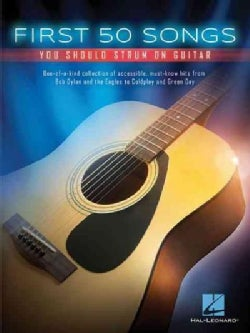First 50 Songs You Should Strum on Guitar (Paperback)