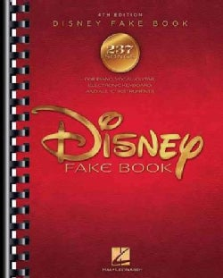 """The Disney Fake Book: For Piano, Vocal, Guitar, Electronic Keyboard, and All """"C"""" Instruments (Paperback)"""