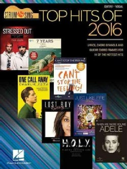 Top Hits of 2016: Guitar-Vocal (Paperback)