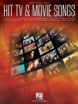 Hit TV & Movie Songs: Piano - Vocal - Guitar (Paperback)
