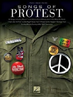 Songs of Protest: Piano/Vocal/guitar (Paperback)