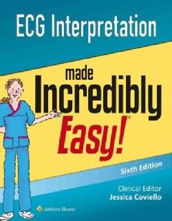 ECG Interpretation made Incredibly Easy (Paperback)