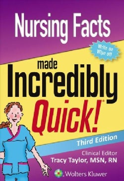 Nursing Facts Made Incredibly Quick (Paperback)