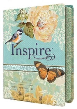 Inspire Bible: The Bible for Creative Journaling, New Living Translation (Paperback)