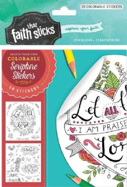Psalm 103:2 Colorable Stickers (Other book format)