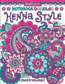 Henna Style Adult Coloring Book (Paperback)