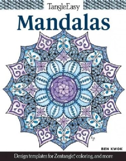 Mandalas Adult Coloring Book: Design Templates for Zentangle, Coloring, and More (Paperback)