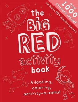The Big Red Activity Book: Drawing, Doodling, Activity-o-rama! (Paperback)