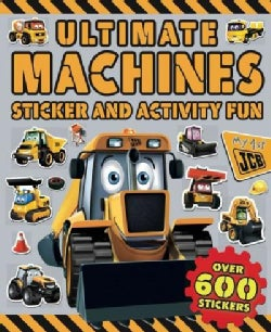 Ultimate Machines Sticker and Activity Fun (Paperback)
