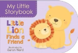 Little Lion Finds a Friend (Board book)