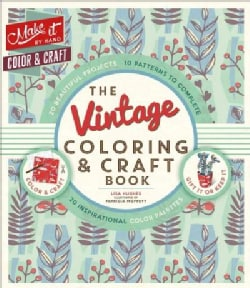The Vintage Coloring & Craft Book (Paperback)