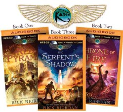 The Kane Chronicles: The Red Pyramid / the Throne of Fire / the Serpent's Shadow (CD-Audio)