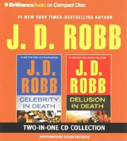 Celebrity in Death / Delusion in Death (CD-Audio)
