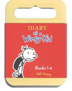 Diary of a Wimpy Kid Books 1-4: Diary of a Wimpy Kid / Rodrick Rules / the Last Straw / Dog Days (CD-Audio)