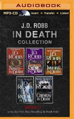 J. D. Robb in Death Collection: Naked in Death / Glory in Death / Immortal in Death / Rapture in Death / Ceremony ... (CD-Audio)