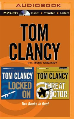 Locked on / Threat Vector: Two Books in One!  (CD-Audio)