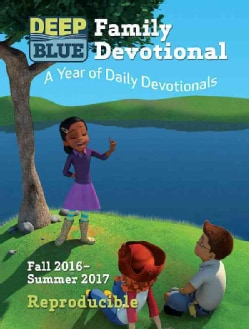 Deep Blue Family Devotional: A Year of Daily Devotionals (Paperback)