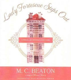 Lady Fortescue Steps Out: A Novel of Regency England (CD-Audio)