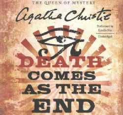 Death Comes As the End: Library Edition (CD-Audio)