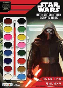 Star Wars Ultimate Paintbox Book to Color (Paperback)