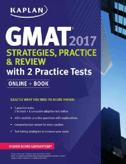 Gmat 2017 Strategies, Practice, and Review + Online: With 2 Practice Tests (Paperback)