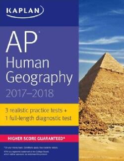 Kaplan AP Human Geography 2017-2018 (Paperback)