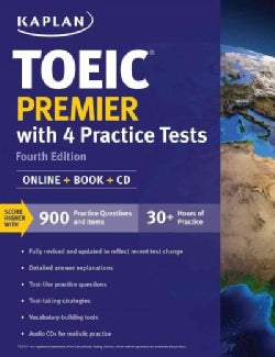 Toeic Premier with 4 Practice Tests 2018-2019