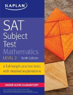 Kaplan SAT Subject Test Mathematics Level 2 (Paperback)