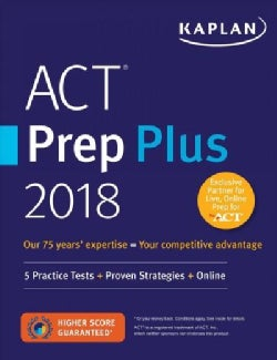 Kaplan Act Prep Plus 2018