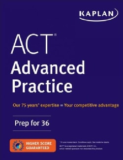 Act Advanced Practice: Prep for 36 (Paperback)