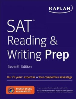 Kaplan SAT Reading & Writing Prep (Paperback)