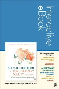 Special Education in Contemporary Society access code: An Introduction to Exceptionality  (Other merchandise)