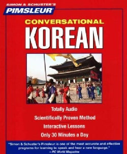 Pimsleur Korean Conversational Course (CD-Audio)